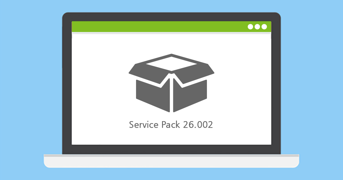 Service Pack 26.002