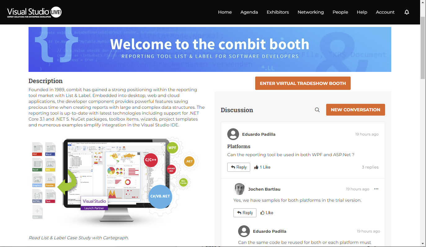 combit booth