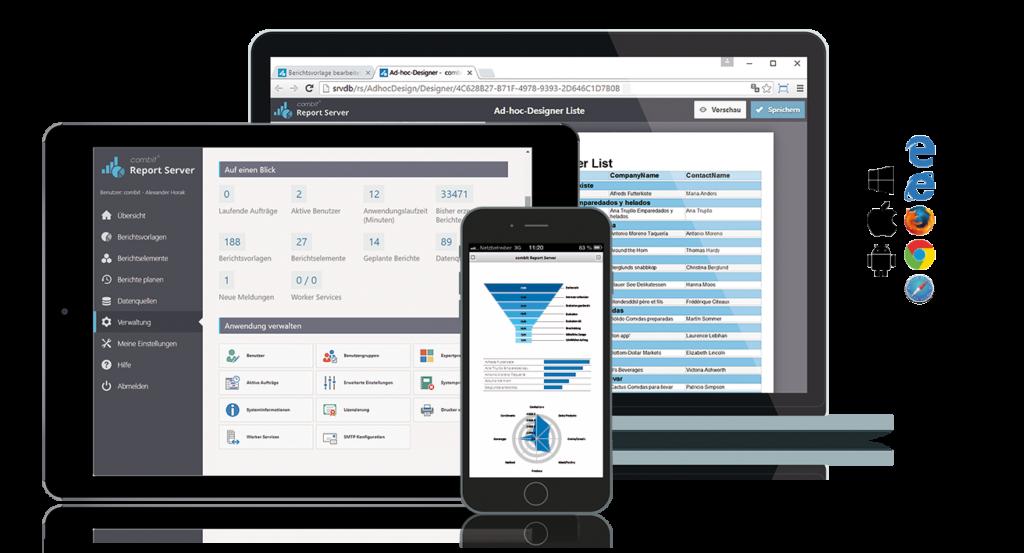 Portierung auf .NET Core: Report Server auf neuer Technologiebasis
