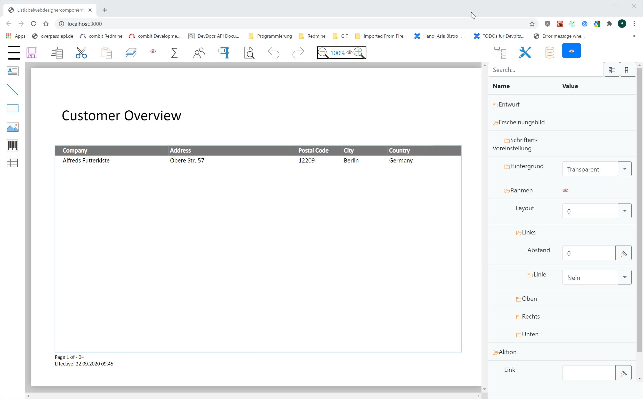 Making-of: Web Report Designer in Development Part I